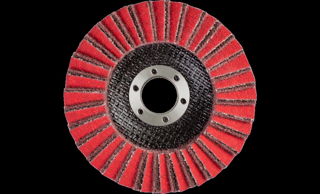 4,000 RPM 6 Diameter x 1//2 Width 1//2 Arbor Hole PFERD Inc. 1//2 Arbor Hole 6 Diameter x 1//2 Width PFERD 44806 Policlean Disc