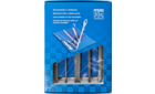 Files for the workshop - Machinist's files, DIN series - Machinist's files in plastic pouch WR, machinist's files in plastic pouch with cardboard box WRU - 520 WRU 200 - Product image