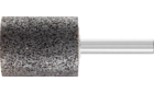 Mounted points - For edge grinding on stainless steel (INOX) - INOX EDGE, cylindrical type - Shank dia. 8 x 40 mm [Sd x L2] - ZY 3240 8 AN 24 N5B INOX EDGE - Product image
