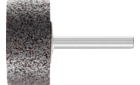 Mounted points - For edge grinding on stainless steel (INOX) - INOX EDGE, cylindrical type - Shank dia. 6 x 40 mm [Sd x L2] - ZY 4020 6 AN 24 N5B INOX EDGE - Product image