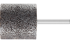 Mounted points - For edge grinding on stainless steel (INOX) - INOX EDGE, cylindrical type - Shank dia. 6 x 40 mm [Sd x L2] - ZY 4040 6 AN 24 N5B INOX EDGE - Product image