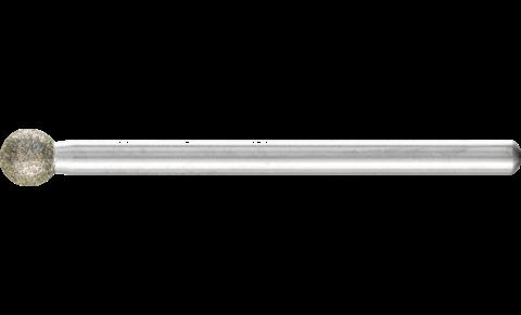 Pferd CBN-Schleifstift D.2mm Schaft 3mm Kugelform