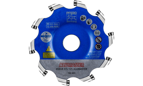 Fräswerkzeuge mit Wendeschneidplatten - High Speed Disc ALUMASTER - High Speed Disc ALUMASTER HSD-R HICOAT - High Speed Disc ALUMASTER HSD-R HICOAT - Produktbild