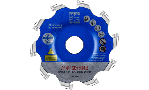 Fräswerkzeuge mit Wendeschneidplatten - High Speed Disc ALUMASTER - High Speed Disc ALUMASTER HSD-R - High Speed Disc ALUMASTER HSD-R - Produktbild