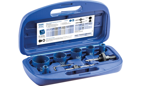 HSS hole saws, sets and accessories - HSS hole saw sets - Set for plumbers - Set for plumbers - Product image