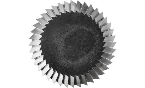 TC burrs for universal applications - For fine and coarse stock removal - Rim shape N - Shank dia. 8 mm - Shank dia. 8 mm - PRODUKTBILD STIRNVERZAHNUNG