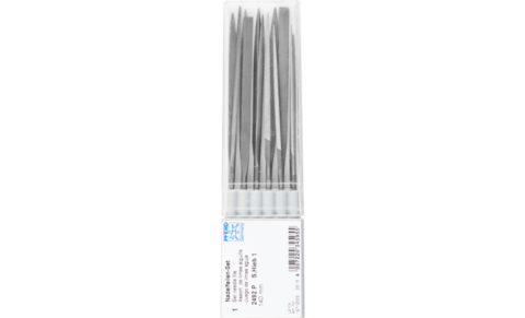 Precision files - Needle file sets - Needle file sets - NFB 2492 140 mm H1 - Product image