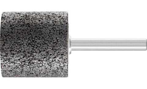 Mounted points - For edge grinding on stainless steel (INOX) - INOX EDGE, cylindrical type - Shank dia. 6 x 40 mm [Sd x L2] - ZY 3232 6 AN 24 N5B INOX EDGE - Product image
