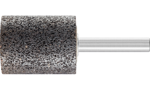 Mounted points - For edge grinding on stainless steel (INOX) - INOX EDGE, cylindrical type - Shank dia. 8 x 40 mm [Sd x L2] - Shank dia. 8 x 40 mm [Sd x L2] - Product image