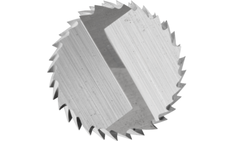 TC burrs for high-performance applications - PLAST, FVK and FVKS cuts for GRP/CRP - Cylindrical shape ZYA - Shank dia. 8 mm with drill cut (BS) - ZYA 0825/8 FVKS BS - PRODUKTBILD STIRNVERZAHNUNG