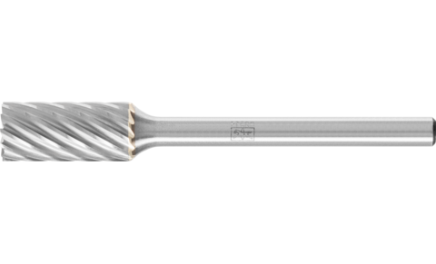 TC burrs for high-performance applications - INOX cut for stainless steel (INOX) - Cylindrical shape ZYAS with end cut - Shank dia. 3 mm - ZYAS 0613/3 INOX - Product image