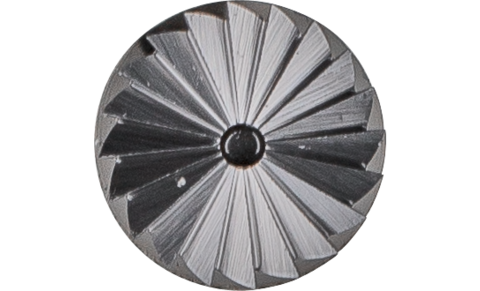 TC burrs for universal applications - For fine and coarse stock removal - Cylindrical shape ZYAS with end cut - Shank dia. 3 mm - ZYAS 0613/3 Z5 - Product image