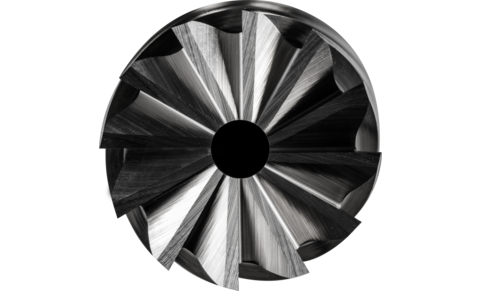TC burrs for high-performance applications - INOX cut for stainless steel (INOX) - Cylindrical shape ZYAS with end cut - Shank dia. 6 mm - ZYAS 1225/6 INOX HC-FEP - PRODUKTBILD STIRNVERZAHNUNG