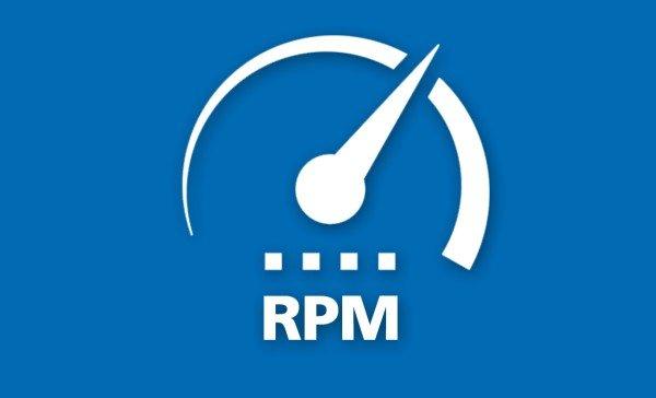 rotational speed calculator