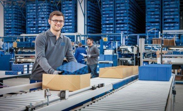 Logistics at PFERD Tools