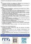 Recomendaciones de seguridad de la FEPA - Herramientas abrasivas