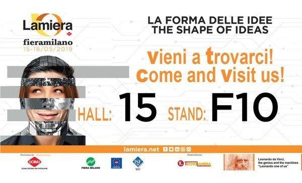 PFERD ITALIA perteciperà alla LAMIERA 2019