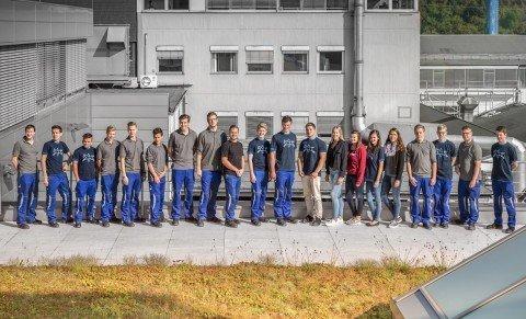 Ausbildungsjahr 2016 – 20 junge Menschen setzen auf`s richtige PFERD