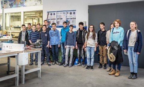 PFERD öffnet seine Pforten für Schüler der Region