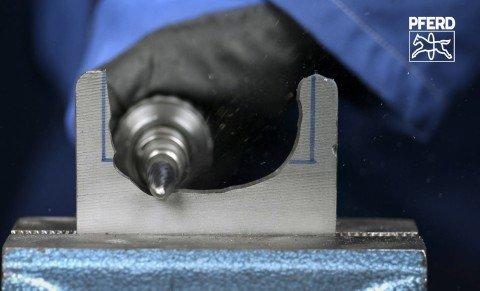 Hartmetallfrässtifte mit der Zahnung CAST