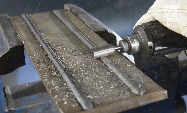 Hartmetallfrässtifte mit der Zahnung INOX